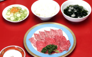 仙台牛定食